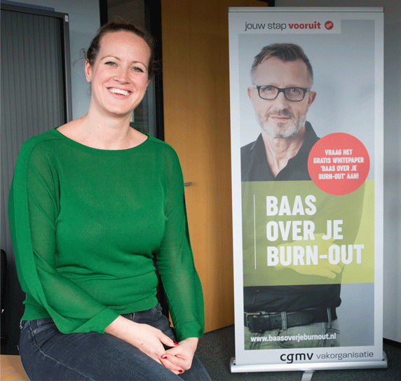 Sarah Hoogendoorn, workshopleider Baas over je burn-out